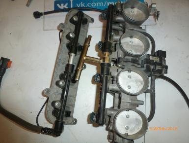 блок инжектора, Kawasaki, ZX 6 R Ninja, 2007, 0, 0