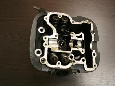 Головка блока цилиндров Задняя (Rear), Suzuki, VZ 400 Desperado, 1997, 0, 0